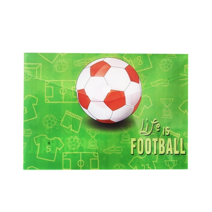 Снимка на Panta Plast Папка Football Collection, PP, с копче, A5
