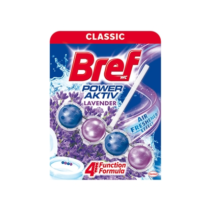 Picture of Bref Power-Aktiv Toilet Freshener, liquid, lavender, 50 g