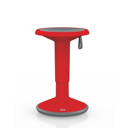 Picture of Interstuhl Stool 100U, red