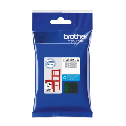 Picture of Brother Cartridge LC3619XL Cyan, 1500 pages/5%