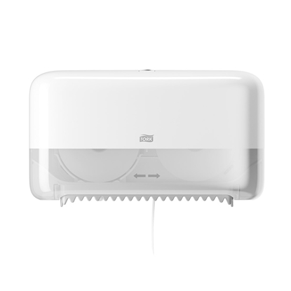 Picture of Tork Toilet paper dispenser, double, T7, 20.7 x 36 x 13 cm, white