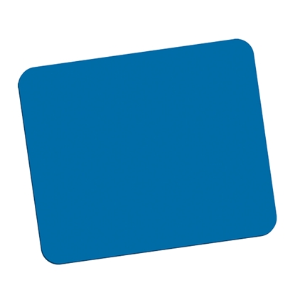 Picture of Fellowes Microban Mouse Pad, antibacterial, blue
