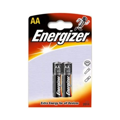 Picture of Energizer alkaline battery Base, AA, LR6, 1.5 V, 2 pcs