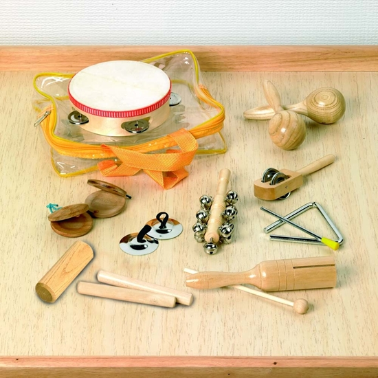 Picture of Set Percussion instruments, 10 pcs.