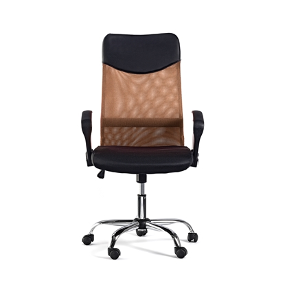 Picture of Monti HB Director s Chair, mesh, upholstery and eco-leather, black seat, brown back