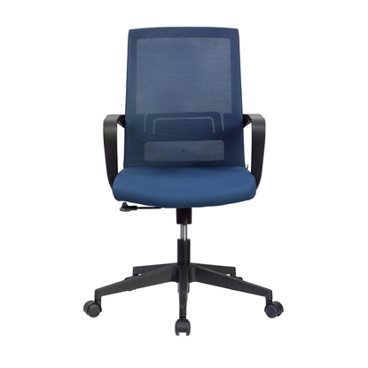 Picture of RFG Smart W Office Chair, mesh and upholstery, dark blue seat , dark blue back
