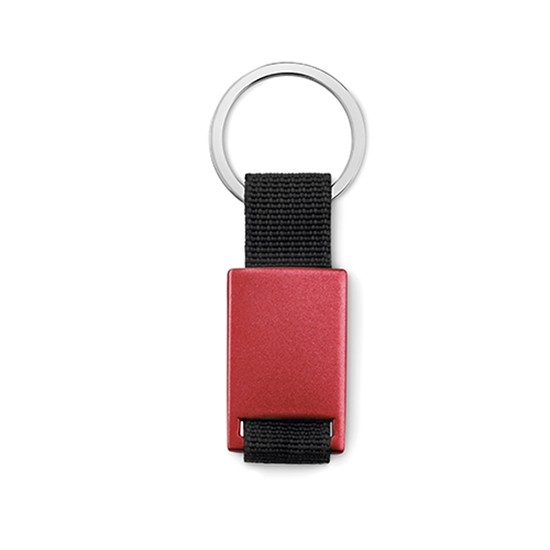 Picture of Key ring Tech black, red