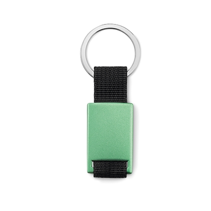 Picture of Key ring Tech black, green