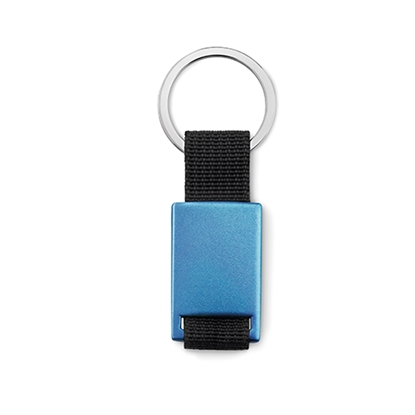 Picture of Key ring Tech black, blue