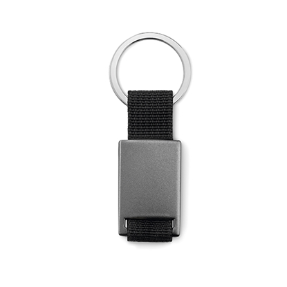 Picture of Key ring Tech black, grey