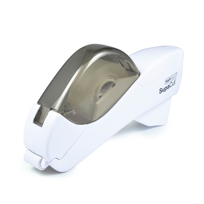 Picture of Rapesco Supacut Tape dispenser, automatic, white