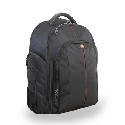 "Picture of Verbatim Melbourne Backpack for Laprop and Camera, 16"", black"