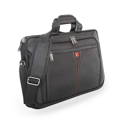 "Picture of Verbatim London Laptop Bag, 17"", black"
