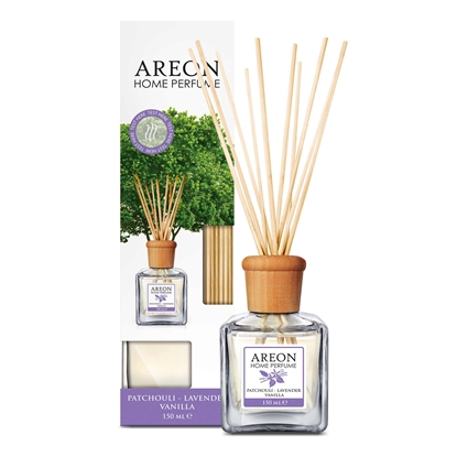 Снимка на Areon Ароматизатор Home Perfume, пръчици, Patchouli Lavender, 150 ml