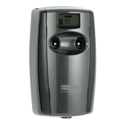 Picture of Rubbermaid Microburst Duet Air freshener dispenser, black