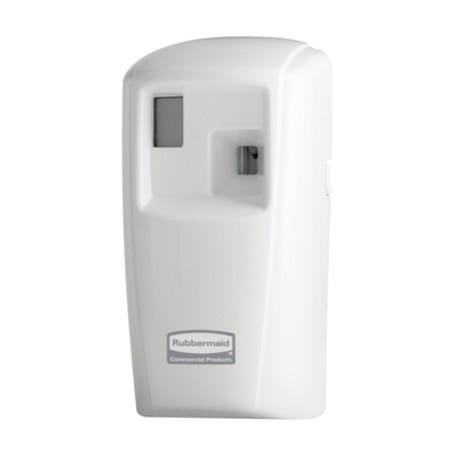 Picture of Rubbermaid Microburst 3000 Dispenser with LCD display, white
