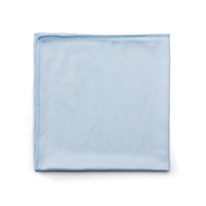 Picture of Rubbermaid Microfibre Glass-cleaning cloth, blue