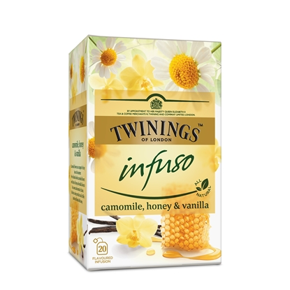 Picture of Twinnings Vanilla, Honey and Camomile Tea, 1.5 g, 20 pcs./pack