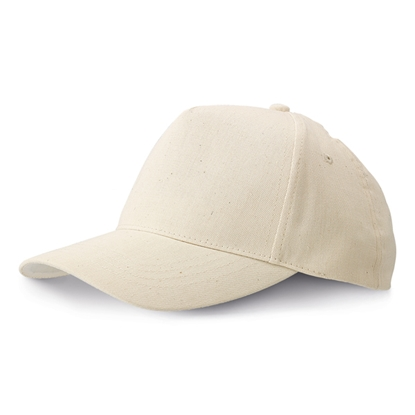 Picture of 6-panel  Baseball cap cotton, white, 10 pcs.