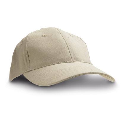 Picture of 6-panel  Baseball cap cotton, grey, 10 pcs.