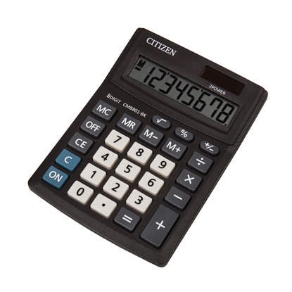 Picture of Citizen Desk calculator CMB 801-BK, 8-digit, black