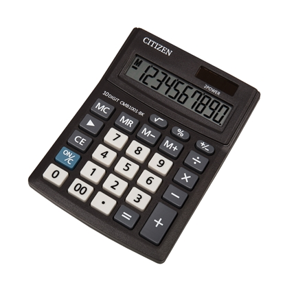 Picture of Citizen Desk calculator CMB 1001-BK, 10-digit, black