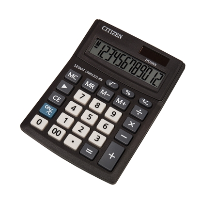 Picture of Citizen Desk calculator CMB 1201-BK, 12-digit, black