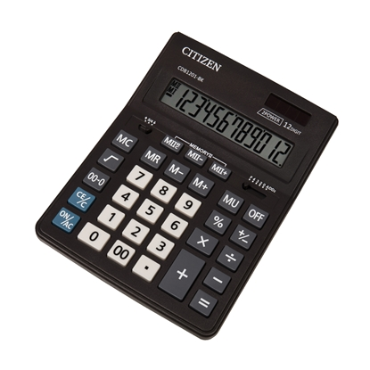 Picture of Citizen Desk calculator CDB 1201-BK, 12-digit, black