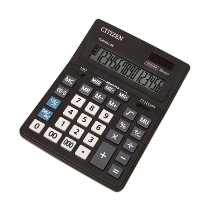 Picture of Citizen Desk calculator CDB 1601-BK, 16-digit, black