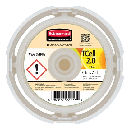 Picture of Rubbermaid TCell Air freshener refill 2.0, citrus