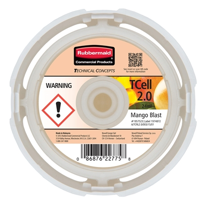 Picture of Rubbermaid TCell Air freshener refill 2.0, mango
