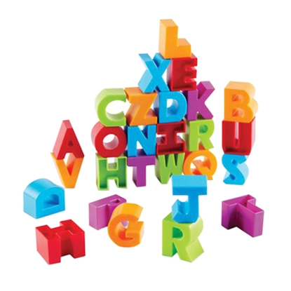 Picture of Construction set English alphabet