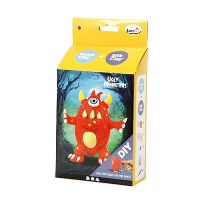 Picture of Do it yourself monster of plasticine foam and plasticine silicone