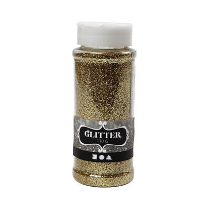 Picture of Glitter, 110 g, gold