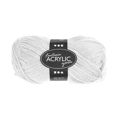 Picture of Yarn, 50 g, white