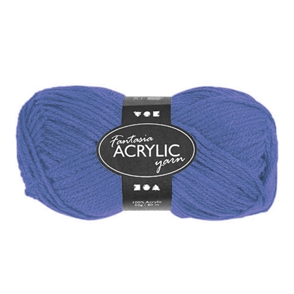 Picture of Yarn, 50 g, blue