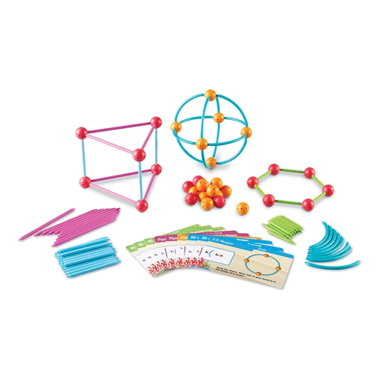 Picture of Set for making geometric shapes