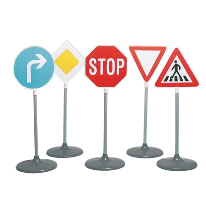 Picture of Set of 10 road signs, 85 cm