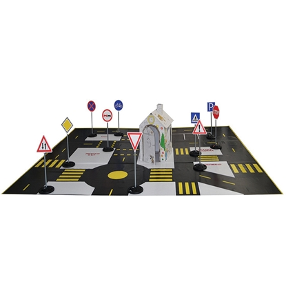 Picture of Portable road traffic safety model, large