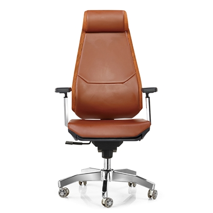Picture of RFG Executive chair Glory HB, eco leather, brown