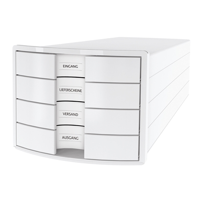 Picture of HAN Impuls Storage Box with 4 drawers, white