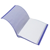 Picture of Office 1 Superstore Display Book with 20 pockets, removable label, blue