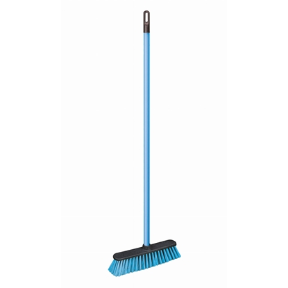 Picture of Broom York plastic, synthetic bristles, with handle