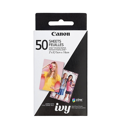 Picture of Canon photopaper Zink, 5 x 7.6 cm, 50 sheets