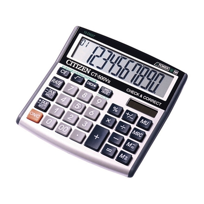 Picture of Citizen Desk calculator CT-500VII, 10-digit, grey