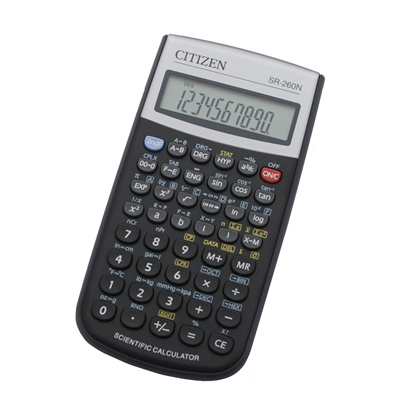 Picture of Citizen Calculator SR-260, 12-digit, black