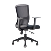 Picture of RFG Siena W Office Chair, mesh and upholstery, black seat, black back, 2 pcs. in a set