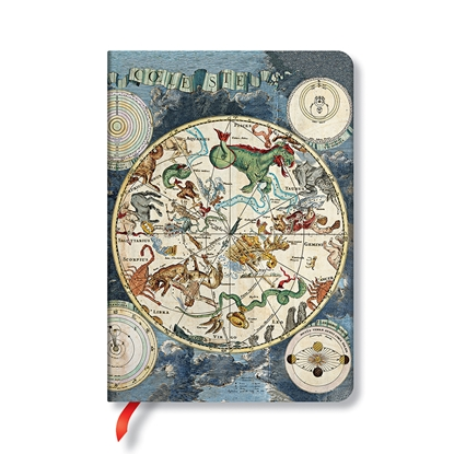 Picture of Paperblanks book Celestial Planisphere, 88 sheets, 120 x 170 mm, 85 g