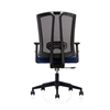 Picture of RFG Brixen W Office Chair, mesh and upholstery, dark blue seat , black back