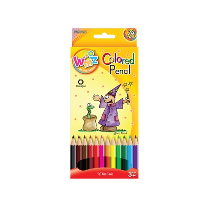 Picture of Beifa Colourful Pencils WMZ, 24 colours